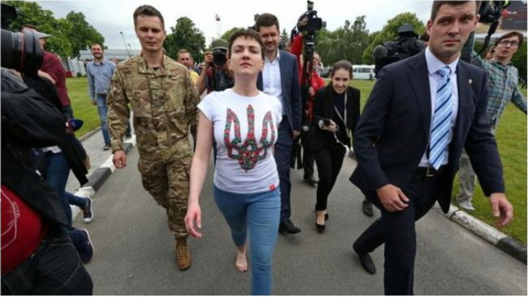 Савченко активизировалась сразу после освобождения - фото 1