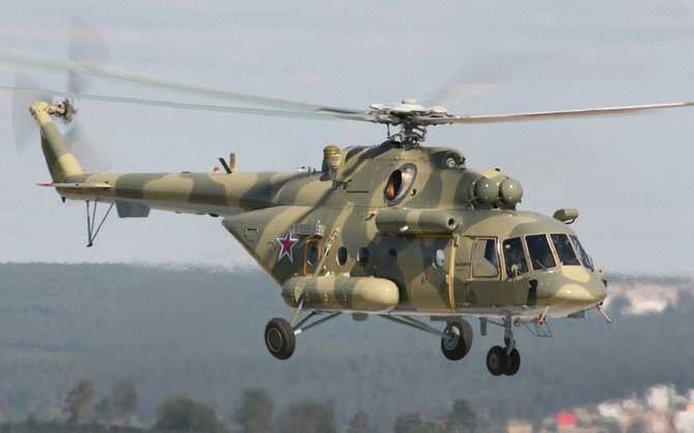 Российские вертолеты снова пролетели у границы с Крымом - фото 1