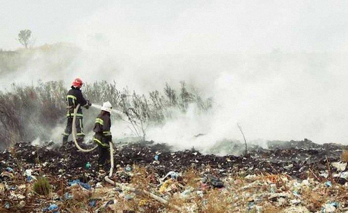 Спасатели борются с огнем уже сутки - фото 1
