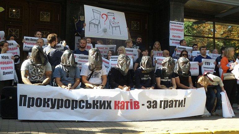 Активисты требовали уволить причастных к пыткам - фото 1