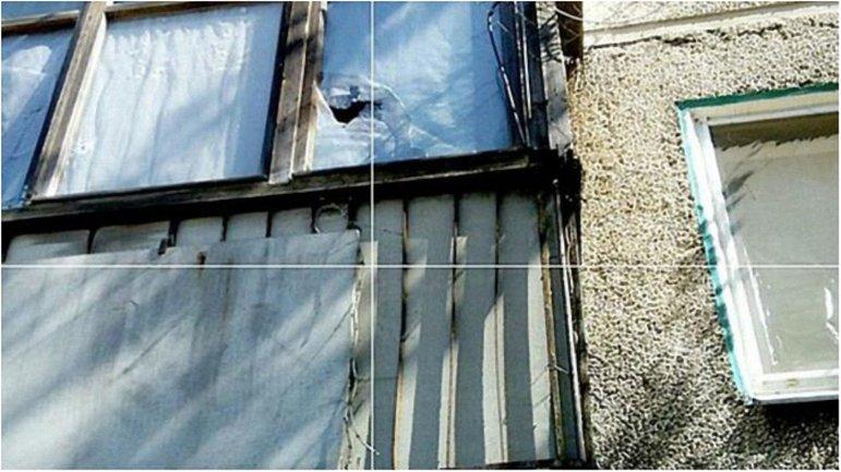 Из-за обстрелов боевиков повреждены жилые дома и больница - фото 1