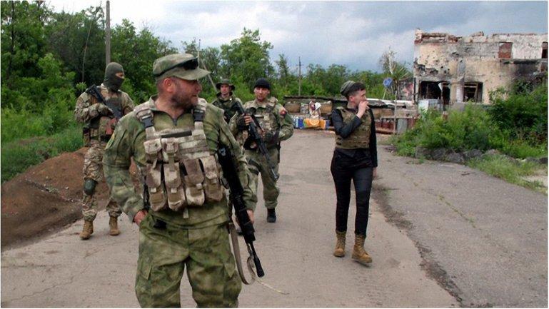 Ярош и Савченко в зоне АТО - фото 1