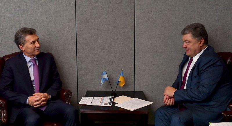 Впервые за 16 лет президенты Украины и Аргентины провели совместную встречу - фото 1