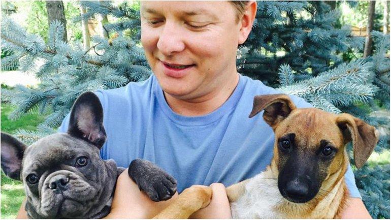 Недавно Ляшко взял себе собак из приюта - фото 1