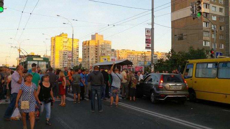 Акция протеста на Героев Днепра продолжается - фото 1
