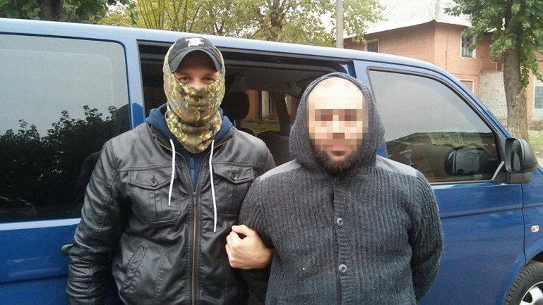 Один из участников банды, которого ранее задержали в Киеве - фото 1