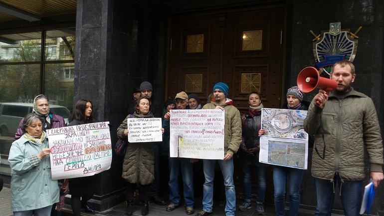 Мешканці знову протестували - фото 1