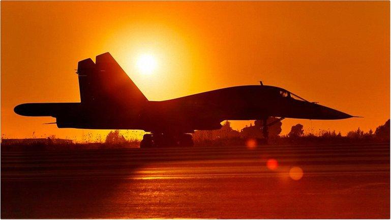 Российская авиация наносит удары по Алепо - фото 1