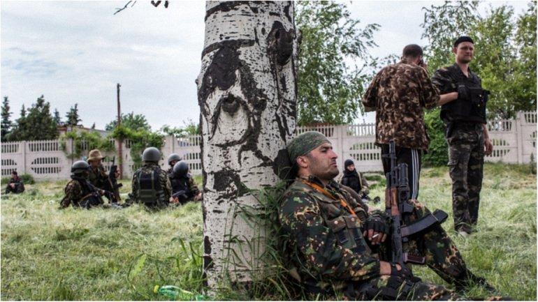 Боевики восстанавливают позиции в районе Петровского - фото 1