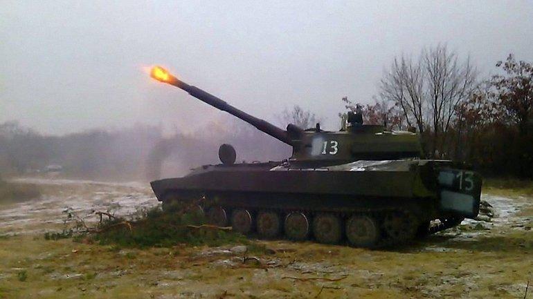 Боевики из САУ обстреляли Попасную - фото 1