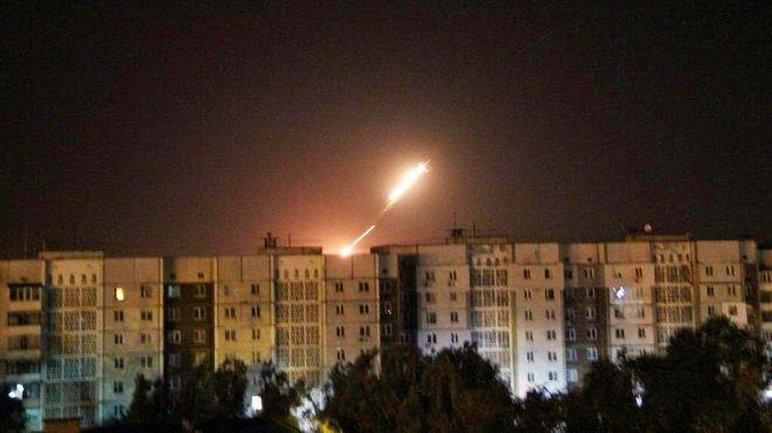 Боевики обстреляли Светлодарск - фото 1