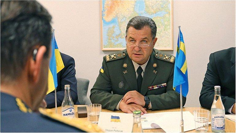 Полторак обсудил в Швеции сотрудничество Украины и Швеции  - фото 1