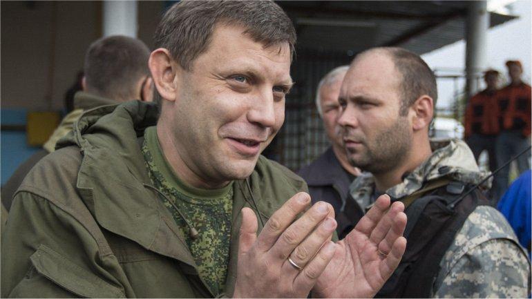 """Захарченко заявил, что смерть """"Моторолы"""" - вызов для боевиков, и пригрозил всем служащим ВСУ - фото 1"""