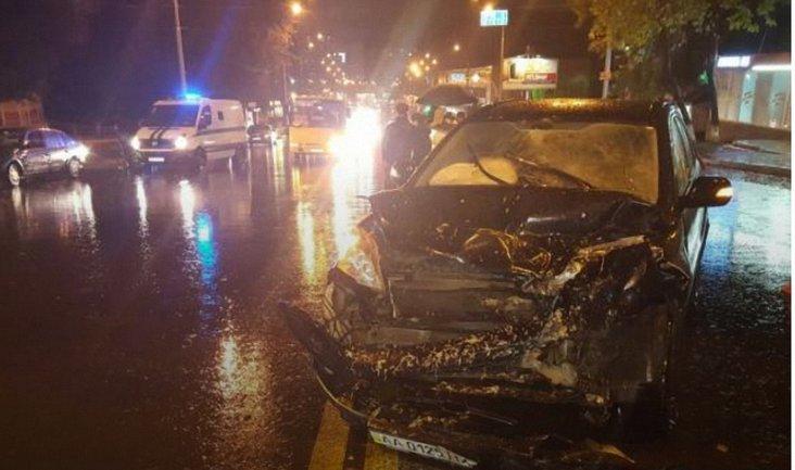 Пешехода госпитализировали в тяжелом состоянии - фото 1