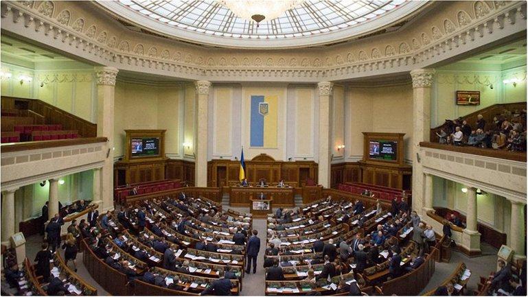 Верховная Рада рассмотрит законопроект в четверг - фото 1