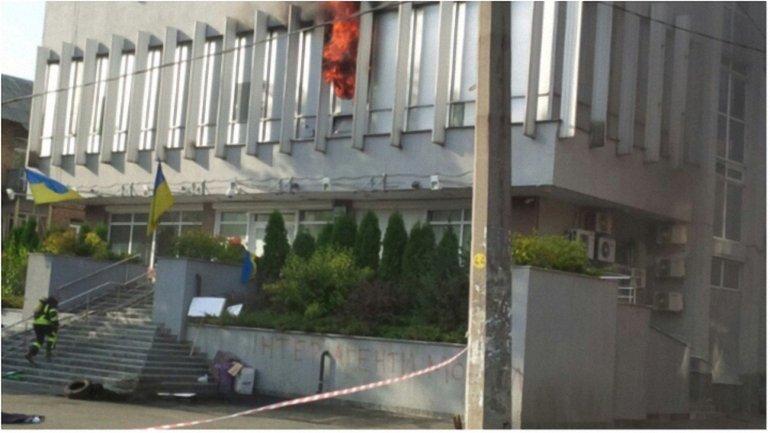 Пожар на телеканале произошел в сентябре - фото 1
