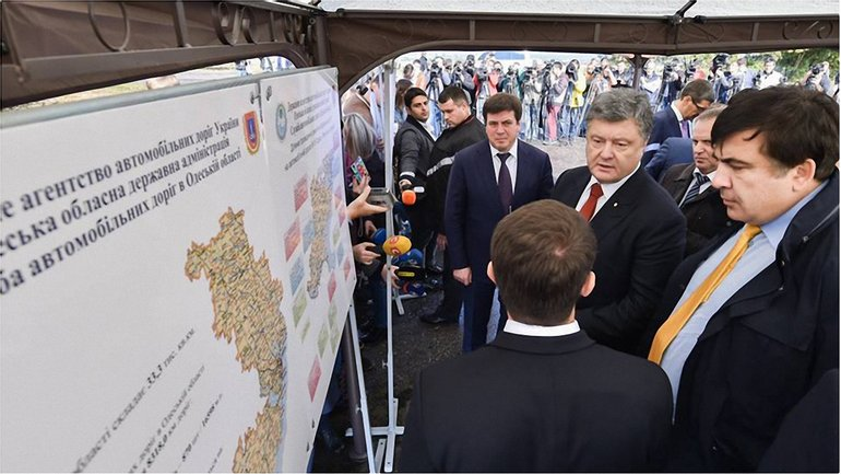 Петр Порошенко прибыл в Одесскую область - фото 1