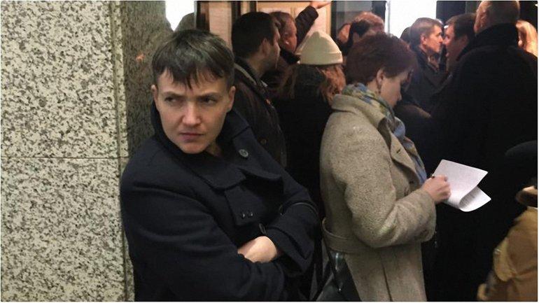 Савченко в суде - фото 1