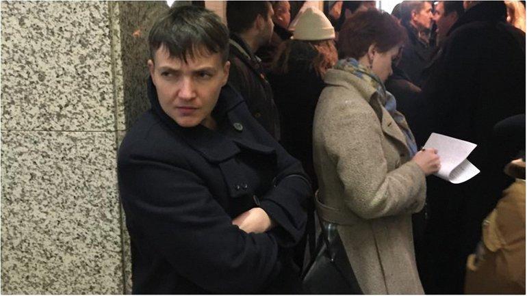 Савченко в российском суде - фото 1