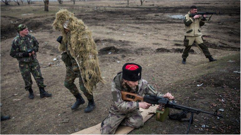 Боевики с боем заняли новые позиции в райне Водяного - фото 1