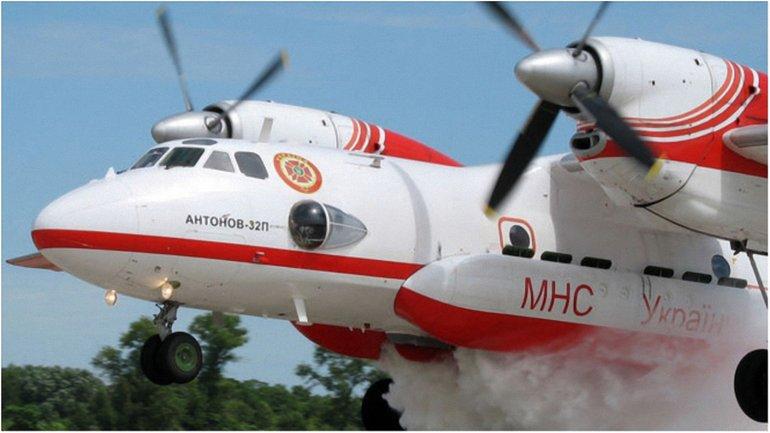 В операции принимают участие два спасательных самолета из Украины - фото 1