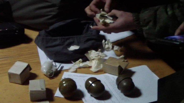 У злоумышленника нашли гранаты и патроны - фото 1