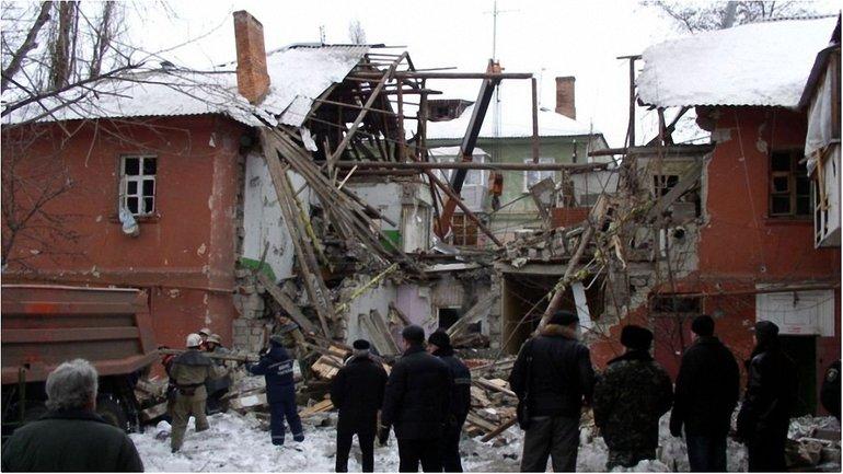 Взрыв газа в Покрове, тогда еще - Орджоникидзе - фото 1