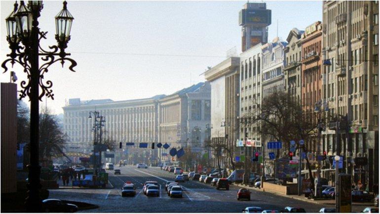 В Киеве на Крещатике появятся наземные пешеходные переходы - фото 1