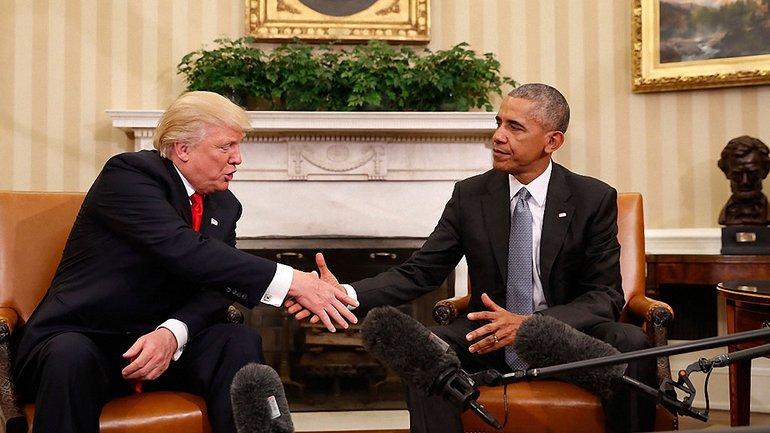 Обама и Трамп обсудили вопросы политики США - фото 1