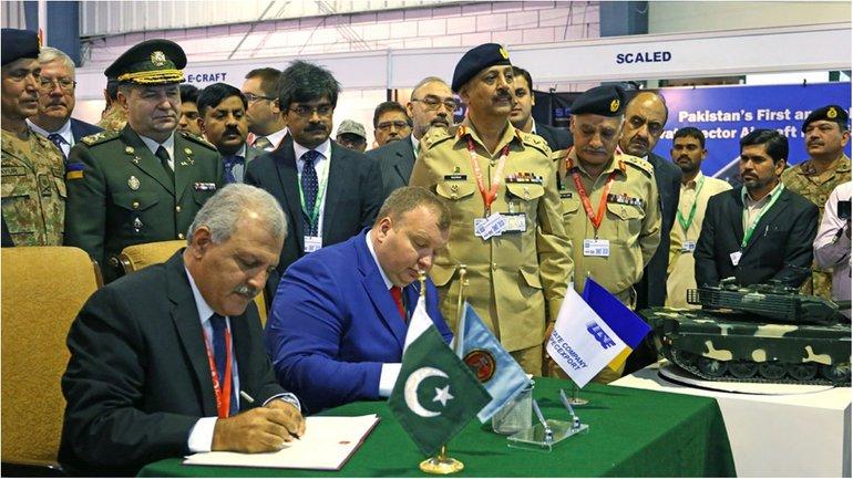 Украина и Пакистан подписывают меморандум о сотрудничестве - фото 1