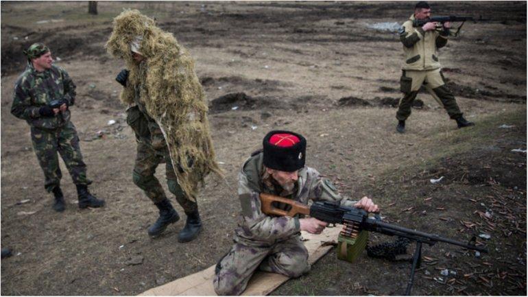 Российские оккупационные войска увеличивают количество обстрелов украинских позиций в АТО - фото 1