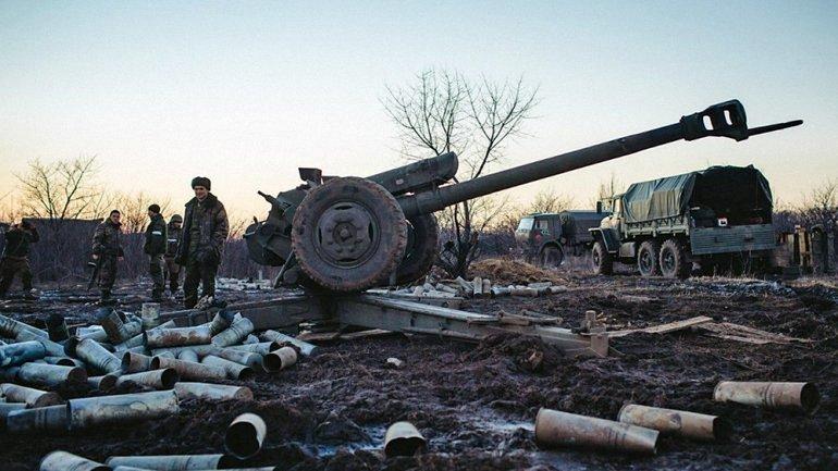 Боевики применяют ствольную артиллерию и минометы - фото 1