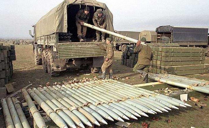 Террористам перебросили боеприпасы для реактивной системы залпового огня - фото 1