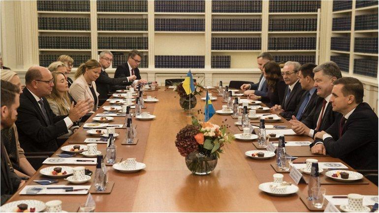 Встреча со спикером Парламента Швеции Урбаном Алином. - фото 1