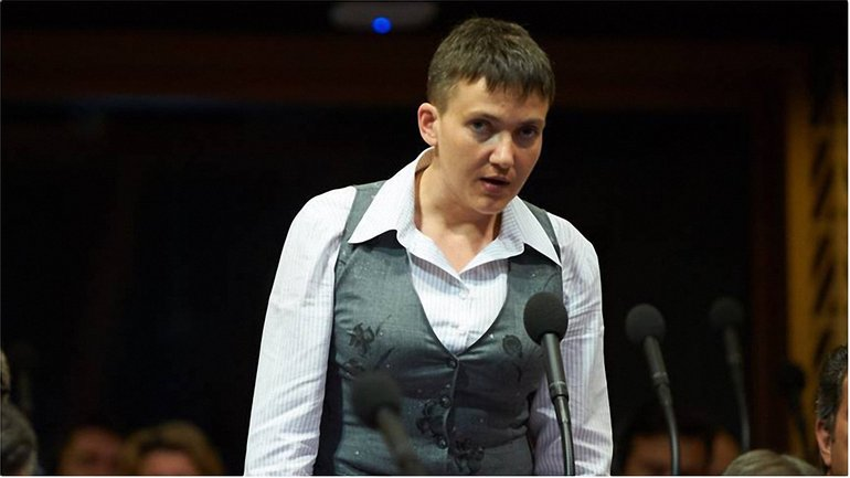 Савченко против журналистов в Раде  - фото 1