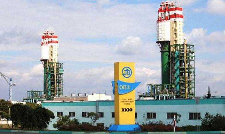 Одесский портовый завод временно остановился - фото 1