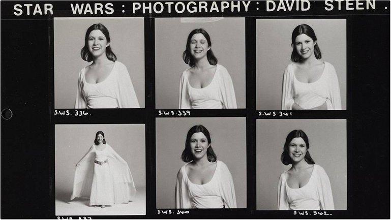 Фишер в роли принцессы Леи в «Звездных войнах» - фото 1