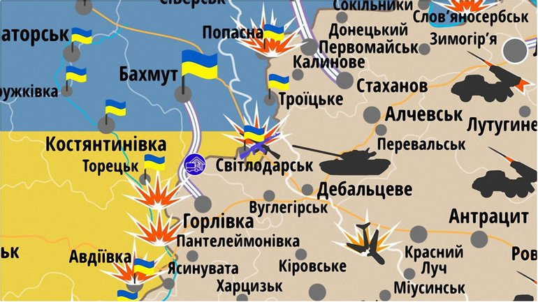 На Светлодарской дуге погибли 8 украинских бойцов - фото 1