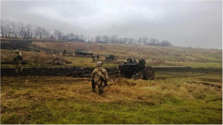 Украинские военные придерживается режима тишины - фото 1