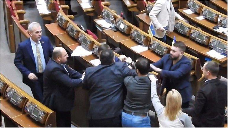 В Раде произошла очередная стычка депутатов - фото 1