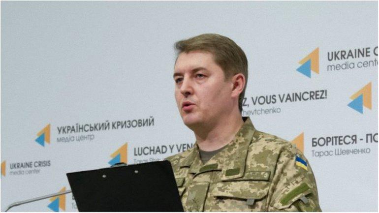 Один украинский боец получил ранения - фото 1