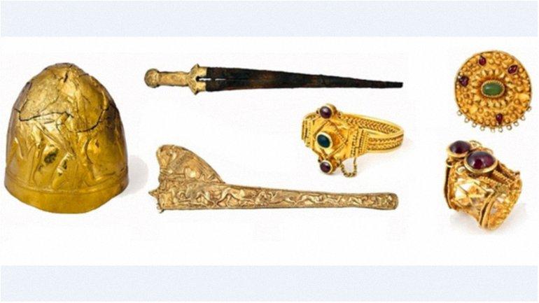 На Скифское золото наложен арест - фото 1