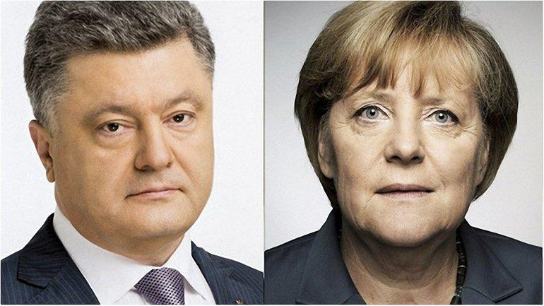 Порошенко и Меркель обсудили санкции  - фото 1