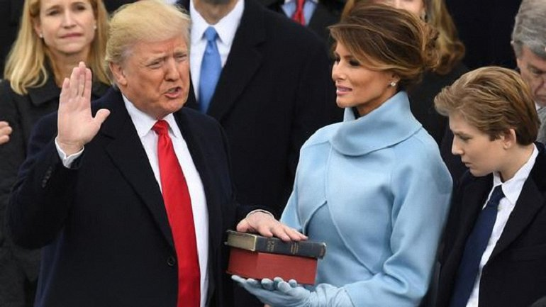 На сайте Белого дома размещают план Трампа по возвещении величия США  - фото 1