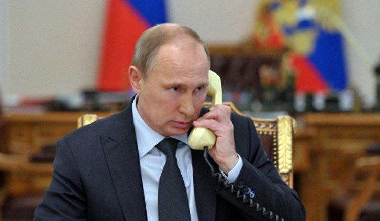 Путину обсудил Донбасс с Меркель и Олландом - фото 1