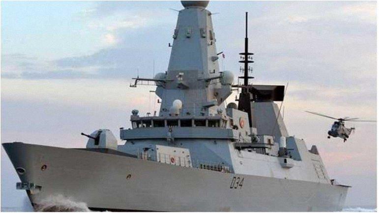 На борту эсминца HMS Diamond находятся новейшие противоздушные ракетные комплексы - фото 1