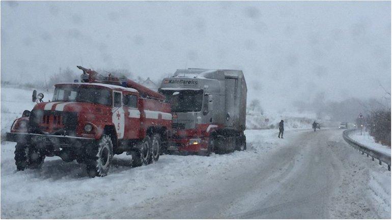 Ограничения будут введены в случае усиления снегопада - фото 1
