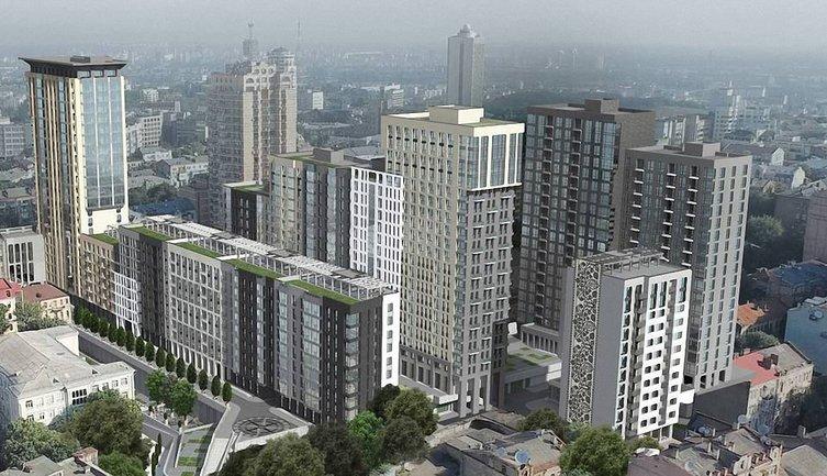 В историческом центре Киева строят высотки - фото 1