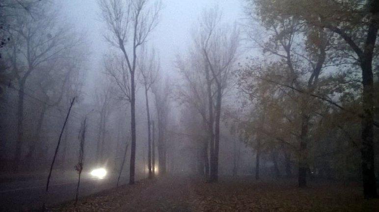 Туман не собирается покидать Киев - фото 1
