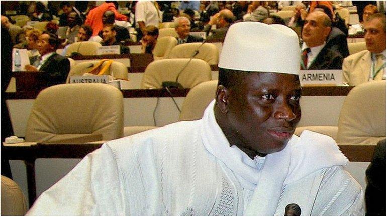 Яйя Джамме отказывается покидать пост президента Гамбии - фото 1